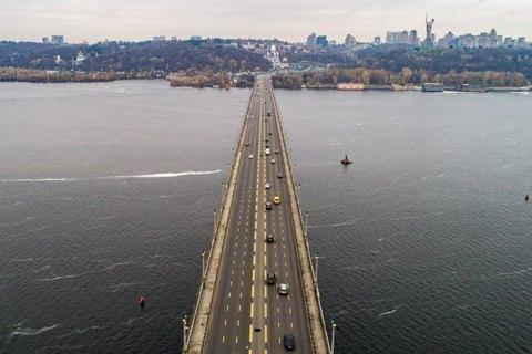 На мосту Патона в Києві повністю відкрили рух