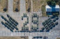 Під час урочистостей до Дня прапора Збройним силам передали 132 одиниці техніки