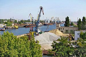Херсонский порт будет расширяться на левом берегу Днепра
