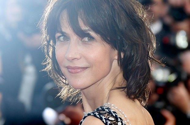 Член жюри, французская актриса Софи Марсо