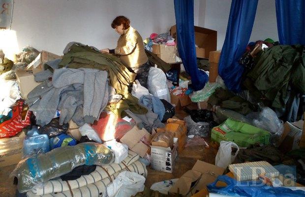 Оля на складе в Днепропетровске