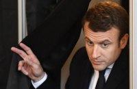 Бельгійські ЗМІ повідомили про впевнене лідерство Макрона на виборах