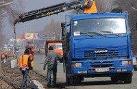 В Днепропетровске выполнена треть подготовительных работ по реконструкции пр. Правды