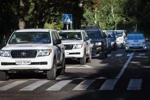 ОБСЕ признала, что боевики находились в автомобиле миссии