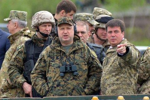 Турчинов заявив про формування активної оборони в зоні АТО