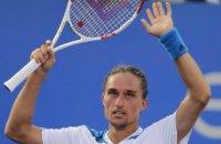 Долгополов вперше за чотири роки пробився в друге коло US Open