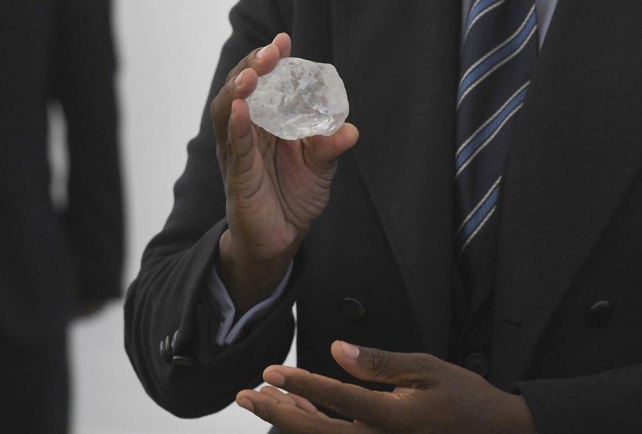 Знайдений у Ботсвані алмаз