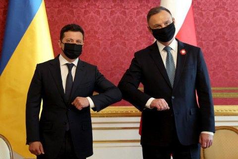 Візит Зеленського до Польщі: Конституція, ПДЧ та протидія російській агресії