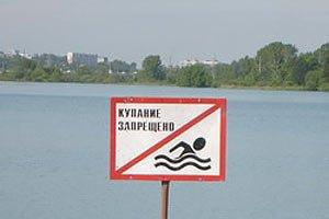 На київських пляжах наразі не можна купатися через спеку