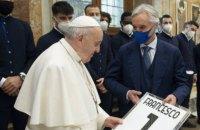 """Папа Римський особисто привітав """"Спецію"""" з перемогою над """"Ромою"""" в Кубку Італії і згадав про танго"""