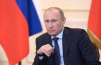 Путин уже обсудил с Совбезом обращение парламента Крыма