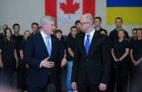 Україна сподівається незабаром завершити 5-річні переговори про ЗВТ з Канадою