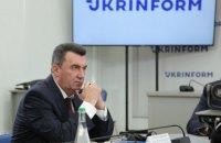 """Данілов: повернення """"вагнерівців"""" Росії негативно позначиться на відносинах з Білоруссю"""