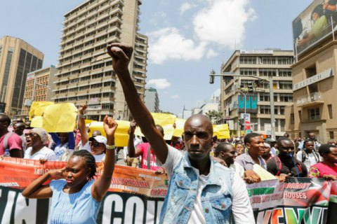 У Кенії поліція розігнала газом мітинг опозиції