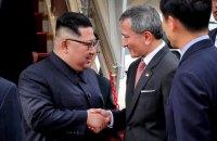 Ким Чен Ын прибыл в Сингапур