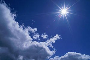 Завтра в Украине обещают жару