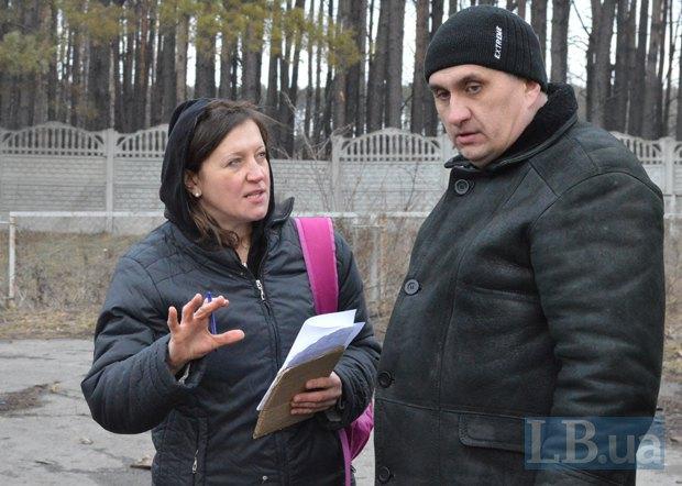 Наталья Баландюк и Андрей Чередниченко