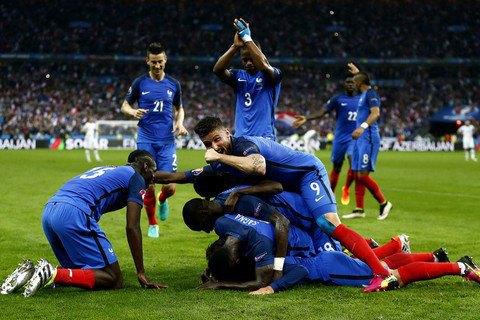Франція обіграла Ісландію в 1/4 фіналу Євро з рахунком 5:2