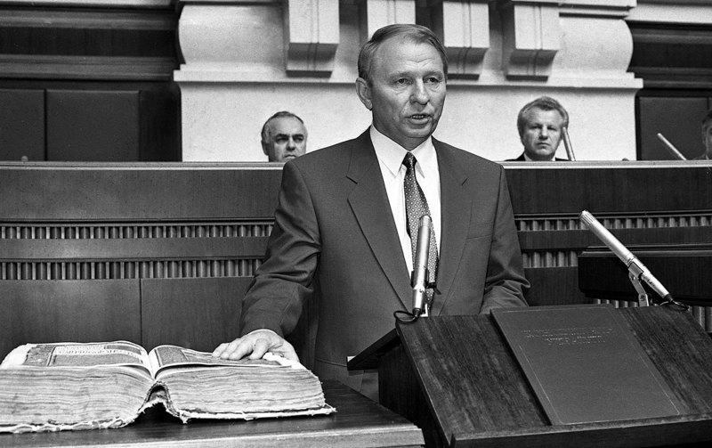 Леонід Кучма під час інавгурації, 19 липня 1994 року