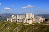 В Сирии крепость крестоносцев повредили авиаударом