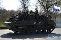 Захоплена в Краматорську бронетехніка в'їхала у Слов'янськ