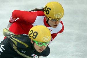 Жіноча збірна Кореї перемогла Канаду у шорт-треку