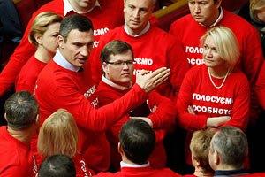 """Кличко говорит, что оппозиционеров переманивают в """"тушки"""""""