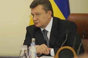 Янукович пригрозил губернаторам увольнениями в ближайшее время