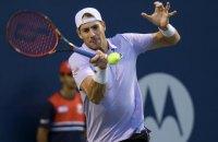 Американський тенісист другим в історії подолав рубіж у 13 тисяч ейсів за кар'єру