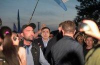 """Полиция открыла дело о пересечении Саакашвили госграницы в """"Шегинях"""" (обновление)"""