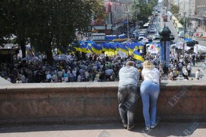 Оппозиция зовет в День Независимости на Народный марш