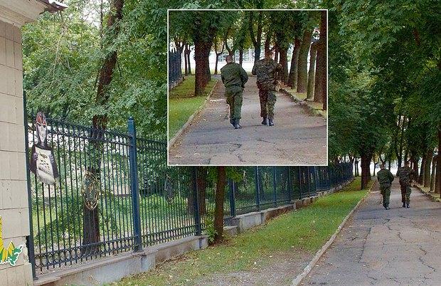 Патруль ДНР не заметил арт-объект