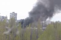 """В Одессе вспыхнул пожар на рынке """"Северный"""" (обновлено)"""