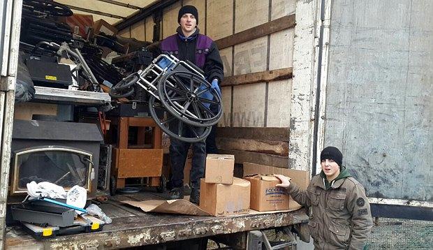 Гуманитарная помощь от Ukraine Relief прибыла на восток Украины
