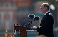 Путін побажав українцям і грузинам миру