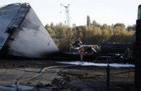 Приватна компанія передала 5 тонн сорбенту для ліквідації наслідків пожежі на БРСМ