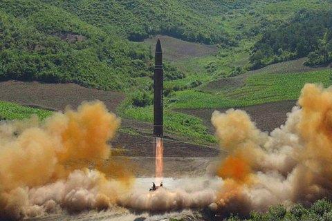 Украина призвала КНДР прекратить провокации с запусками баллистических ракет
