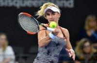 Цуренко вышла в полуфинал Brisbane International