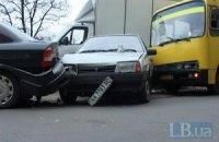 В Киеве машрутка задавила человека