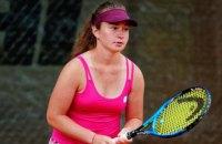 Українка Снігур виграла тенісний турнір у Японії