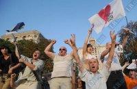 Группа поддержки Тимошенко ожидает у Апелляционного суда