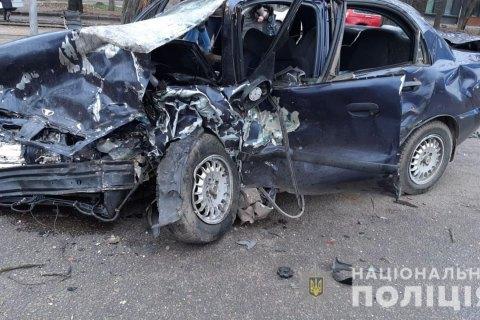 На Кубані в крупній ДТП постраждали п'ять осіб
