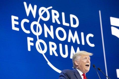 Давос 2020: Трамп, Гретта и российские «сантехники». День первый