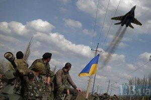 Полеты военной авиации в зоне АТО возобновлены