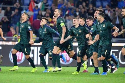Футболісти збірної Італії повторили національний рекорд 80-річної давності