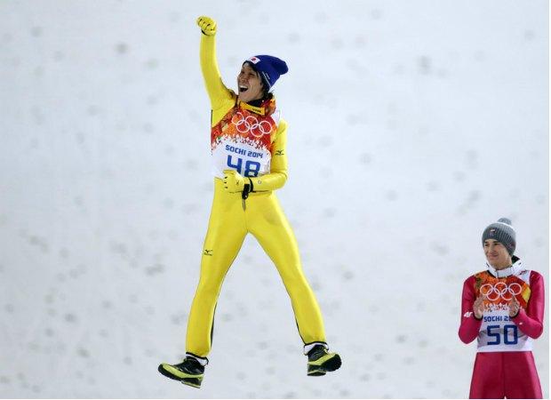 """Як бачимо, 41-річний Норіаки Касаї почувається """"форевер ян"""". Японець зібрався ще на одну Олімпіаду?.."""
