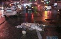 ДТП в Киеве: автомобиль сбил насмерть пешехода на переходе