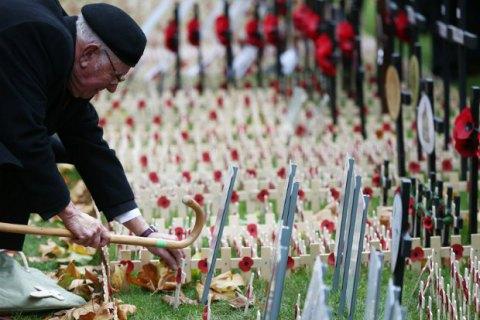 В Британии почтили павших в войнах