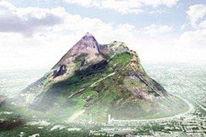 Голландцы хотят себе сделать искусственную гору высотой 2000 метров