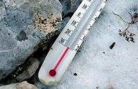 На вихідних морози в Україні підуть на спад